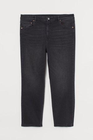 H&M+ Vintage Slim Ankle Jeans - Black
