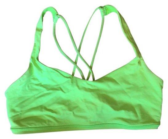 Lululemon Green Free To Be Activewear Sports Bra Size 6 (S, 28) - Tradesy