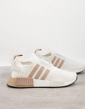 adidas Originals NMD trainers in white   ASOS