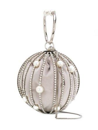 Rosantica pearl sphere bag