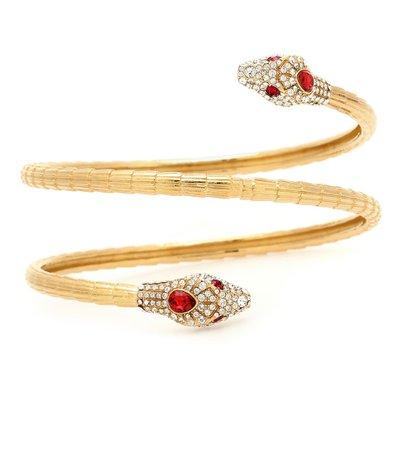 Gucci - Crystal-embellished bracelet | Mytheresa