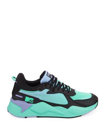 Puma RS-X Tracks MTV Gradient Gloom Trainer Sneakers