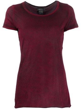 Avant Toi Round Neck Short Sleeve T-shirt - Farfetch