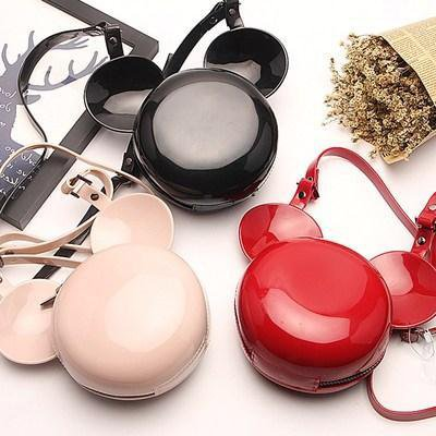 Fashion Mickey Minnie Mouse Ear Handbags