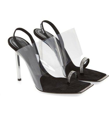 Alexander Wang Clear Shield Sandal (Women) | Nordstrom