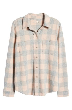 Faherty Legend Knit Button-Up Shirt | Nordstrom