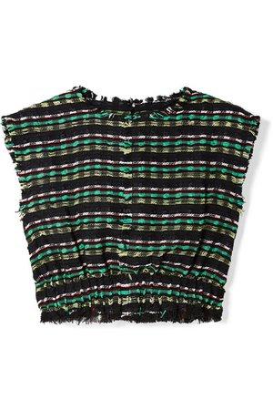 Proenza Schouler   Cropped tweed top   NET-A-PORTER.COM