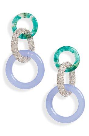 Lele Sadoughi Triple Hoop Drop Earrings | Nordstrom