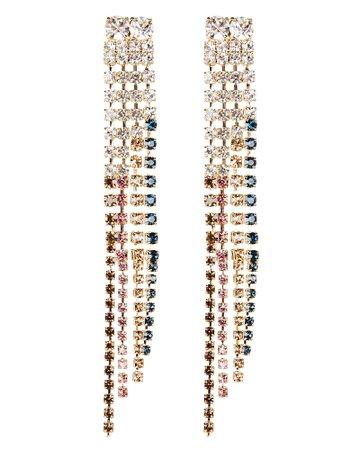 Sublime Crystal Fringe Earrings
