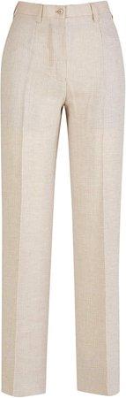 Altea Linen Wool Blend Trousers