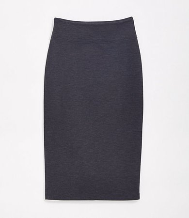 Lou & Grey Ponte Midi Skirt