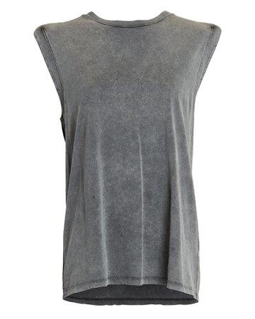 IRO Elena Cotton Muscle Tank   INTERMIX®