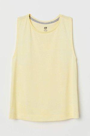 Sports Tank Top - Yellow