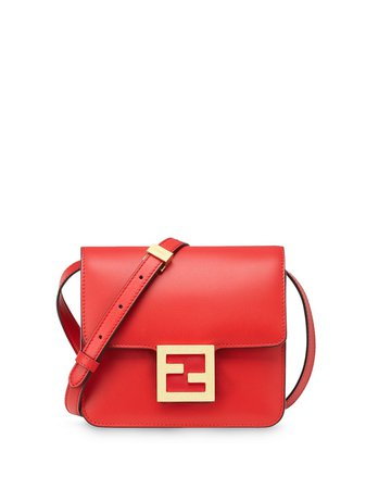 Fendi Fendi Fab Logo Shoulder Bag - Farfetch