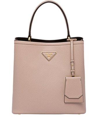 Prada Double Saffiano Leather Bag - Farfetch