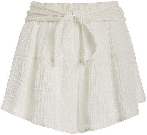 Anaak Brigette Petal Cotton Shorts