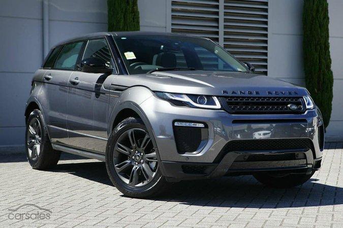 2018 Land Rover Range Rover Evoque TD4 Landmark car