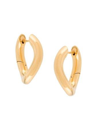 Balenciaga XS Loop Earrings - Farfetch