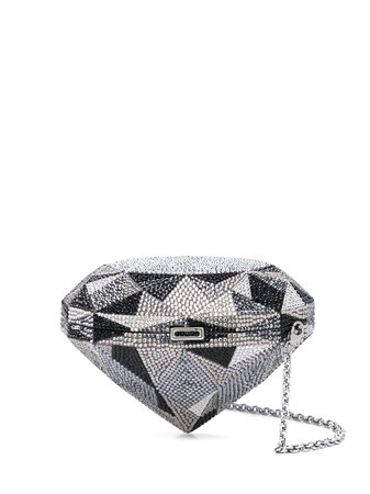 Judith Leiber Couture Embellished Clutch Bag - Farfetch