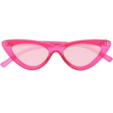 THE LAST LOLITA 1702129 CRYSTAL HOT PINK PINK FLASH MIRROR - Le Specs | Le Specs - LIVE. LOVE. LE SPECS.