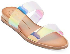 Payce Demi-Wedge Slide Sandals