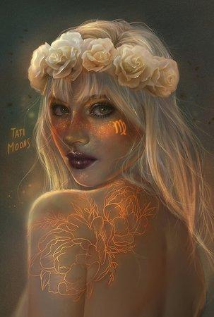 PRINTS | Tati MoonS virgo