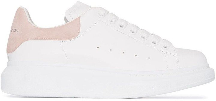 Chunky Leather Low-Top Sneakers
