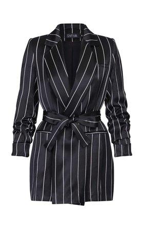 Safiyaa Grete Striped Jacket
