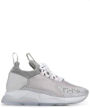 Chain Reaction metallic sneakers