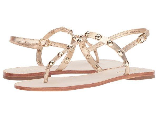 Lilly Pulitzer - Rita Sandal (Gold Metallic) Women's Dress Sandals