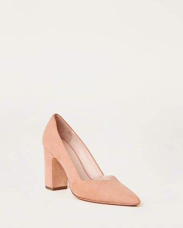 Paulina Pointy Toe Pump Coquille