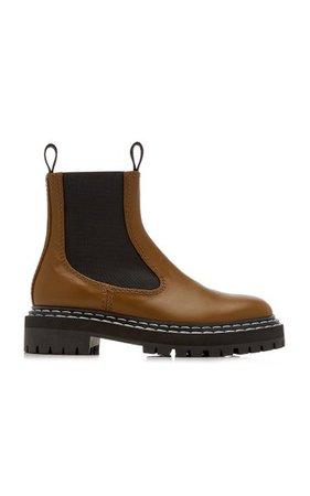 Lug-Sole Leather Chelsea Boots By Proenza Schouler | Moda Operandi
