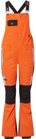 Dc Snow Ski Overalls - Orange