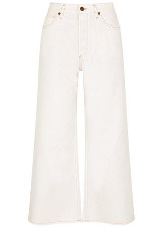 White Rotunda Butta Jeans