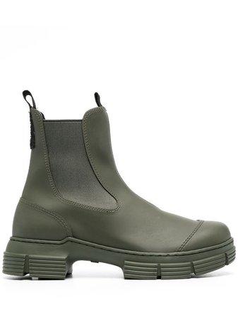 GANNI Ankle Boots - Farfetch