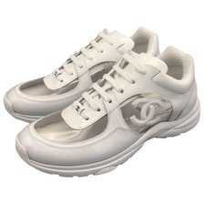 chanel sneakers pvc -