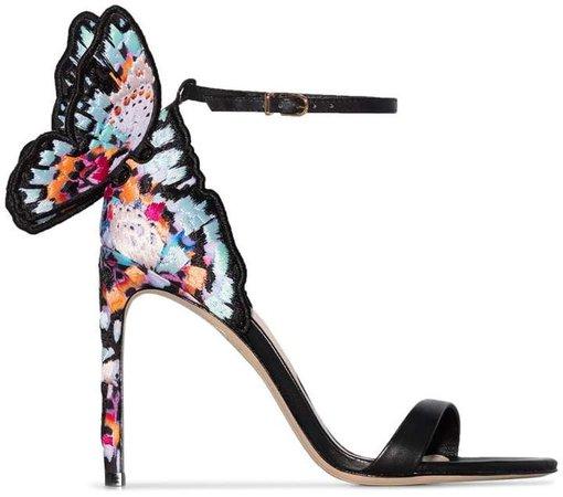 Chiara 100mm butterfly sandals