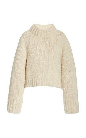 Lima Chunky Cashmere Sweater By Khaite   Moda Operandi