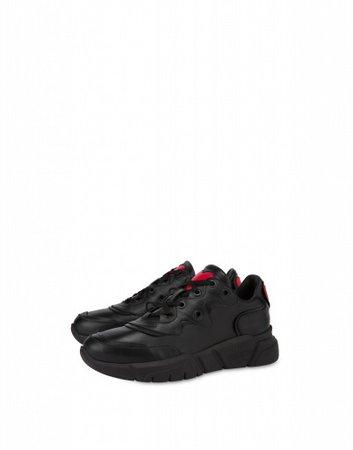 Calfskin Running Sneakers