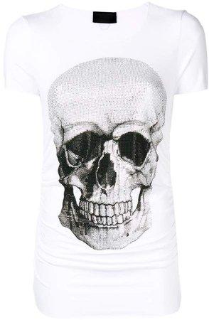 skull embellished T-shirt