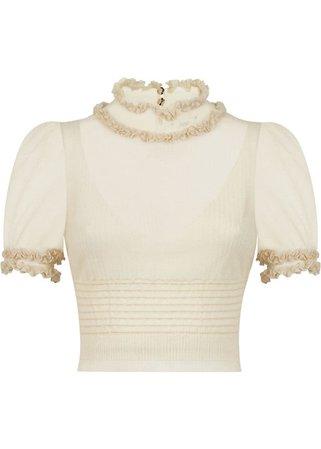 FENDI | Knitwear | SWEATER | Crewneck Sweater | Brown | Tessabit Shop Online
