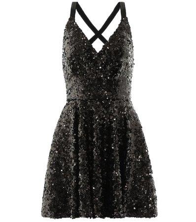 Dolce & Gabbana - Sequinned minidress