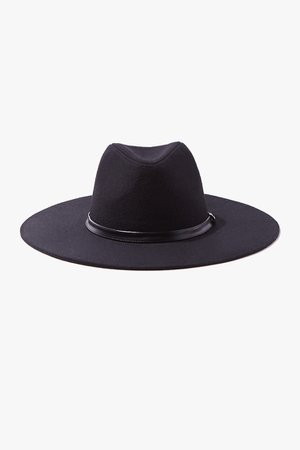 Brushed Wide-Brim Panama Hat | Forever 21