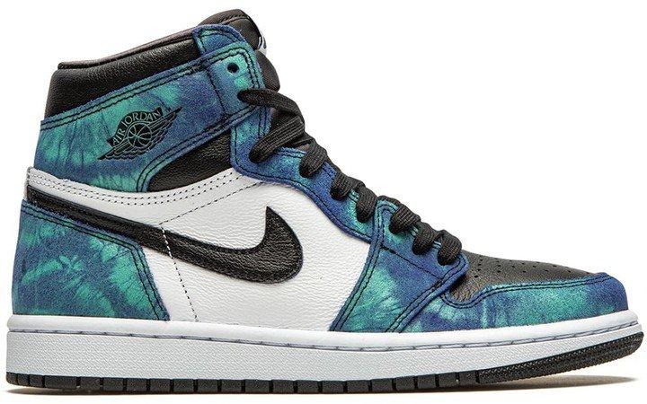 """Air 1 High """"Tie-Dye"""" sneakers"""