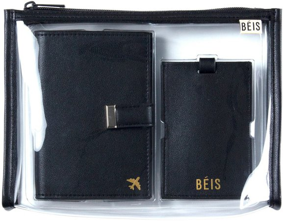 The Travel Set Passport Wallet, Pouch & Luggage Tag