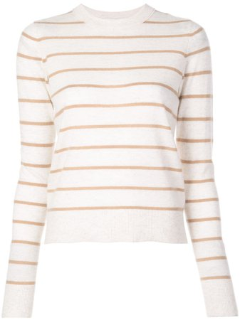 Vince Striped Cashmere Sweater - Farfetch