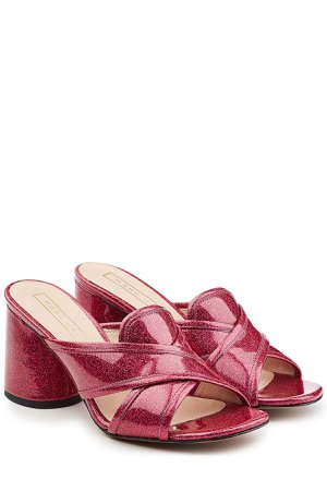 Glitter Patent Leather Mules Gr. IT 37.5