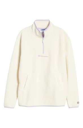 Champion Quarter Zip Polar Fleece Pullover | Nordstrom