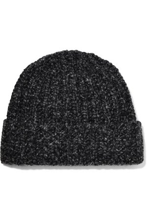 Johnstons of Elgin | Donegal ribbed cashmere beanie | NET-A-PORTER.COM