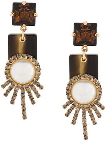 Erdem Drop Earrings - Farfetch